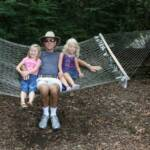 Ron Corey and granddaughters