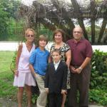 Jerry Shapiro and family living in Florida