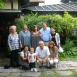 the 3rd picture (back row) is me, my daughters Pam & Laura, my son Richard and his wife Yukino and the front row is Yukino's mother & father, her sister and Sarah.  The second & third pictures were taken on my visit to Japan in June. Diane Wirth Viglione
