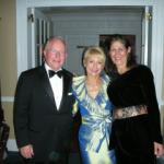 A picture of Nancy, Maria Pappas, and me at the Swedish American Museum gala when I was honored a few years ago.