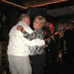 Les and Carol Berens dancing at the Beached Whale
