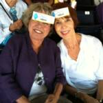 A day at the Del Mar California races-Iris Daglas and Joy Leon  Gordess-Lost wages with ID tags