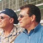 Dick Rehwaldt and Bob Deck at Wrigley Field