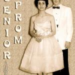 Marilyn Sargeant Roberts and husband Sam Roberts at Sam's Senior Prom.