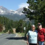 Wayne and Jean Kuehn  in Rocky Mountain National Park, CO