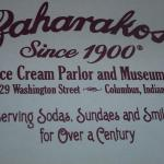 World famous ice cream shop in Columbus, IN