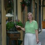 Janice(Von Holdt) Anderson visiting Florence, Italy
