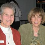 Sue (Alport) Ludtke and Carole (Ditkowsky) Kirschner at a 100 Club dinner in Glenwood Springs, Colorado.