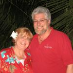 Jan(Williams)Eddleman and her Hubby from Miami