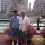 Bob and Bev(Duffey)Altes visiting Indianapolis, IN