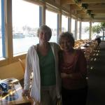 Val Iversen Wiker and Iris Daglas in Dana Point, CA