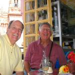 Bronson Davis and Bill Fisher In Mexico