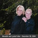 This is a bigger photo of Meredith Baxter (actress......was on Family Ties with Michael J. Fox), and me, Lynda (Richmond) Fuller. I can send you a smaller one too.  Hope this is okay.........I don't have many photos of myself. This was taken at Meredith's home in Santa Monica, California.