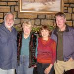 Denny and Brigid Crosby  with Dolores and Keith Anderson in Whitefish, MT