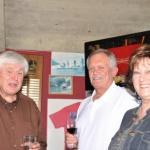 Bill Neumann, Chuck Scharf and Ann Davis