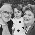 Claudette Phillips Einhorn with her husband, Larry and granddaughter, Georgia