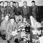 IN 1964 I WAS IN CHARGE OF THE HYDRAULIC & STRUCTURES SHOP IN A MARINE JET SQUADRON AT N.A.S. GLENVIEW. I AM FRONT ROW 2nd FROM LEFT. IN THE EARLY YEARS OF THE TOYS FOR TOTS PROGRAM WE ACTUALLY COLLECTED USED ITEMS REPAIRED THEM AND TOOK THEM TO NEEDY KIDS. LLOYD KUEHN